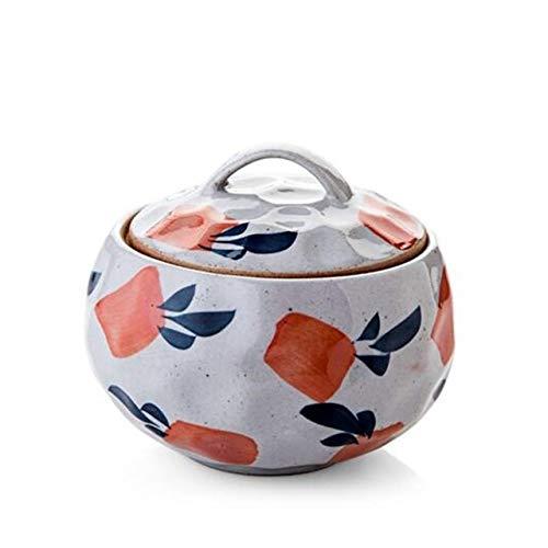 Mini Keramik Kochtopf Isolieren Wasser Eintopf Suppe Innentopf Mit Deckel Ei Pudding Dampfgarer Kessel, Für Küche Tee Gewürz Zucker Salzglas, Radieschen