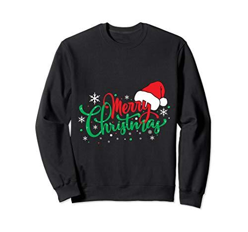 Merry Christmas Holidays Desing Sweatshirt