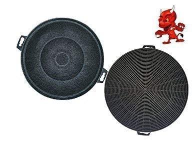 Filtre à charbon actif Filtre Filtre à charbon pour hotte Hotte Bosch dke635asd06, dke635eeu01, dke635eeu03