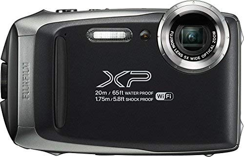 Fujifilm FinePix XP130 Waterproof Digital Camera w/16GB SD Card - Silver