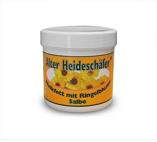 Melkfett mit Ringelblume Salbe von Alter Heideschäfer 250ml