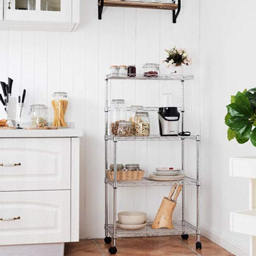 3 Tiers Kitchen Baker's Rack Microwave Oven Stand Storage Cart Workstation Shelf