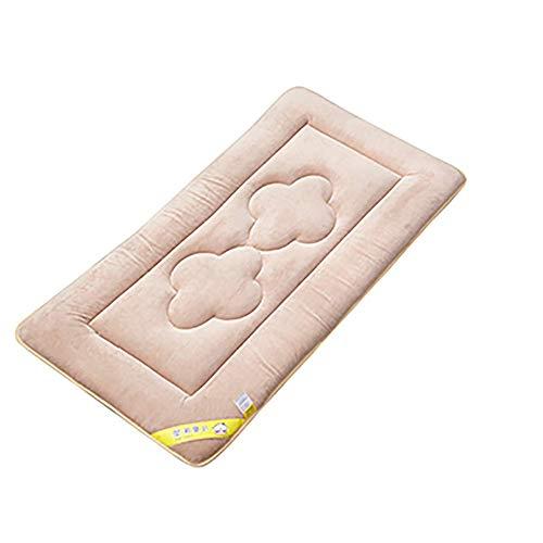 Cyt baby matras, dikker wieg matras topper opvouwbaar 4 cm ademend zacht omkeerbaar matras 70X150cm BRON