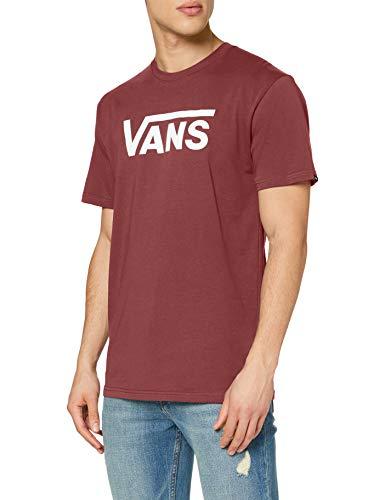 Vans Herren Classic T-Shirt, Rot (Port Royale-White K1o), Large