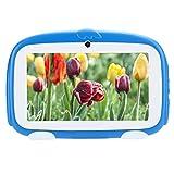 Jeankak Tableta para Niños de 7 Pulgadas, HD 1GB RAM + 16GB ROM Tableta para niños pequeños con Estuche a Prueba de niños, WiFi, Cámara Dual, Educación, Juegos, Control Parental(#2)
