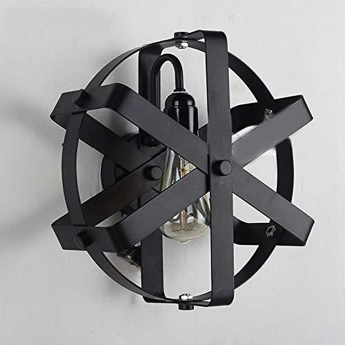 Lighfd Industrieel smeedijzer Muur Lamp Restaurant Aisle Energiebesparende Chandelier Muur Bedroom Foyer Windmill Wandlamp Creative Cafe Kitchen Porch Retro Lamp van de Muur