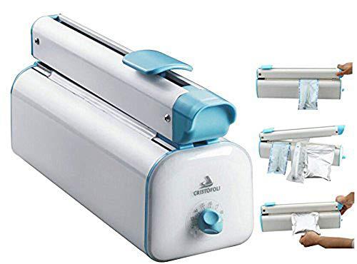 PochiDen 滅菌バッグ用ヒートシーラー インパルスシール機 卓上シーラー 密封シーラー機 カットくん32-33cm幅