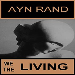 We the Living audiobook cover art