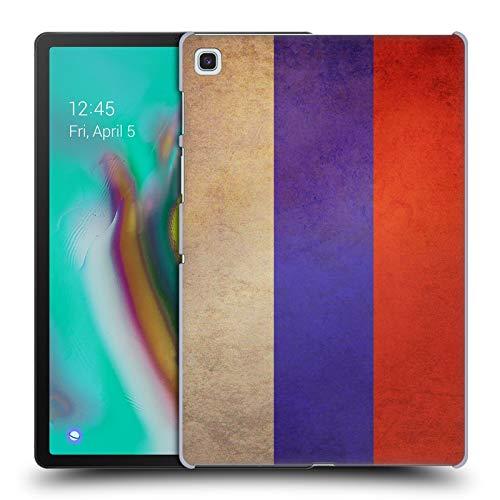 Head Case Designs Russland Russisch Vintage Fahnen 4 Harte Rueckseiten Huelle kompatibel mit Samsung Galaxy Tab S5e
