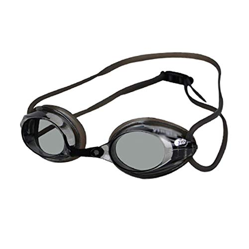 QQSS Occhialini Nuoto Miopia (da 0 A -300), Graduati Miope Miopi Myopic UV400 Occhiali Anti-UV Anti-Nebbia con Ponte del Naso Rimovibile