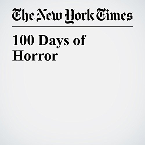 100 Days of Horror copertina