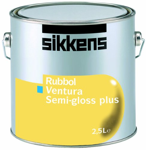 Sikkens Rubbol Ventura Semi-gloss Plus, 2,5 L., Weiß halbglänzend, ventilierender Fensterlack