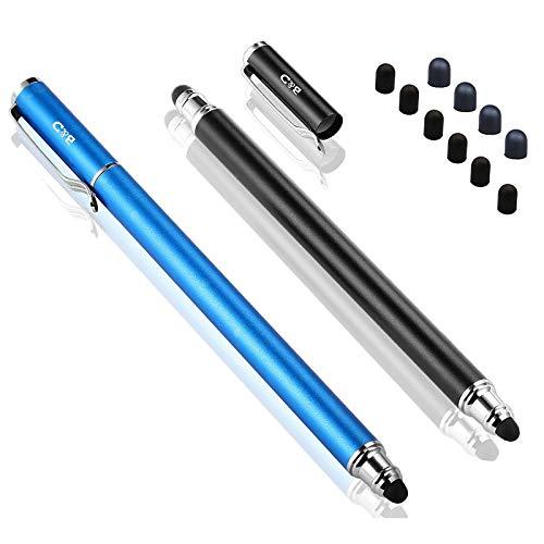 B&D Universaler Stylus-Eingabestift 2-in-1, für Touchscreens, Stift für Apple iPad, iPhone, iPod, Kindle, Tablet, Galaxy, LG und HTC