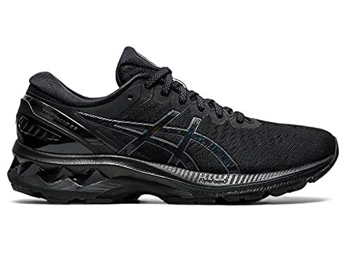 ASICS Women's Gel-Kayano 27 Running Shoes, 8M, Black/Black