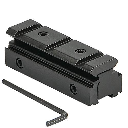 JASHKE Zielfernrohrmontage Base 11 mm bis 20 mm 11 mm bis 11 mm Schwalbenschwanz Picatinny Weaver 11mm Schiene Adapter konvertieren