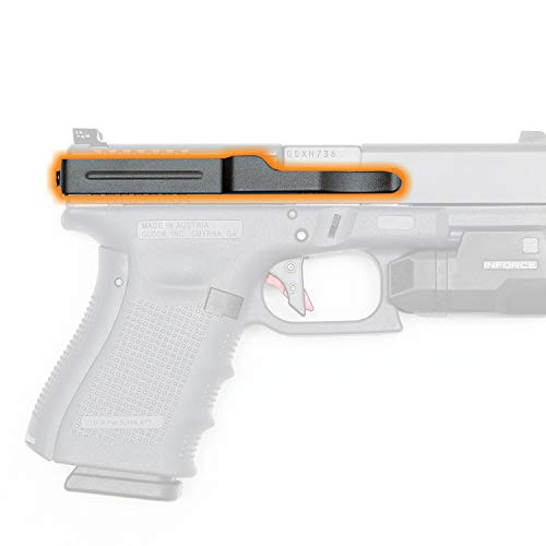 ClipDraw GS-B Glock 9mm/.40/.357 Gun Belt, Black