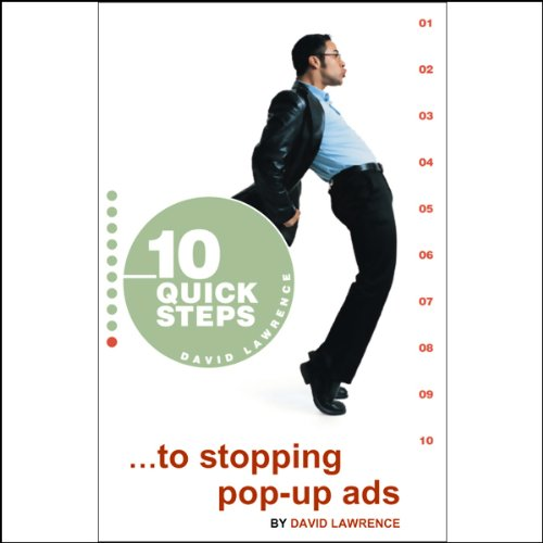 10 Quick Steps to Stopping Pop-Up Ads audiobook cover art
