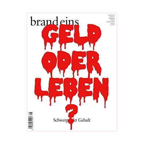 brand eins audio: Gehalt audiobook cover art