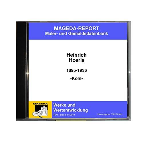 Heinrich Hoerle Werke und Wertentwicklung MAGEDA-REPORT (Stand:11/2019)