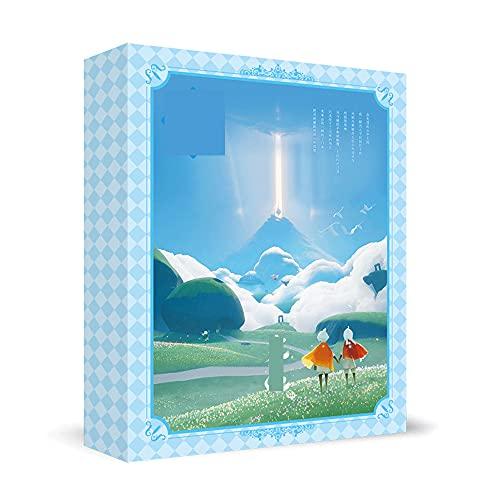 FUYUNLAI Sky: Children of Light/Anime Gift Box/Looksee Box Anime/Mystery Box Items/Anime periférico/Postales/Insignias/Posters/Coleccionables temáticos/El Mejor Set de Regalo de cump