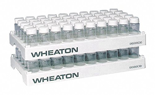 Wheaton Chicago Max 72% OFF Mall Science Products 868806 Rack 50-Hole Scintillation Vial