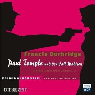 Paul Temple und der Fall Madison Titelbild