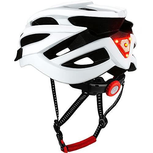 DesignSter Casco Bicicleta Unisex Adulto Unisexo Ajustable con Visera y Forro Desmontable...
