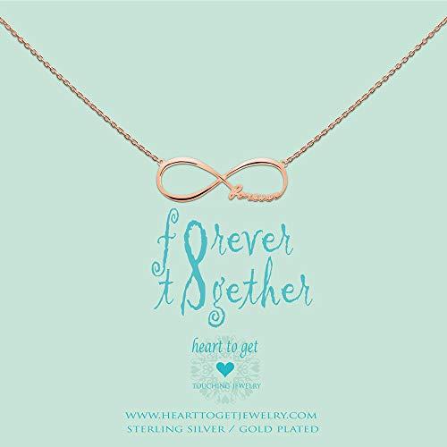Heart to Get Infinity Forever Kette Silber rosévergoldet N181IFO13R