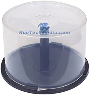 1 PC OF EMPTY CD DVD Blu-ray Disc CAKE BOX Spindle - 50 Disc Capacity