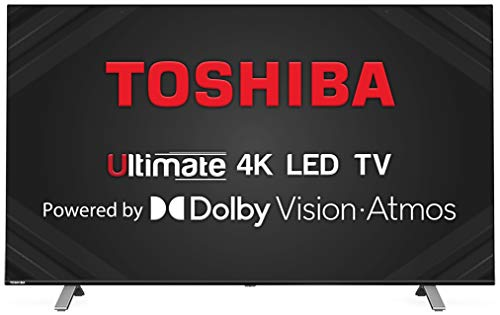 TOSHIBA 126 cm (50 inches) Vidaa OS Series 4K Ultra HD Smart LED TV 50U5050 (Black) (2020 Model) | with Dolby Vision and Atmos
