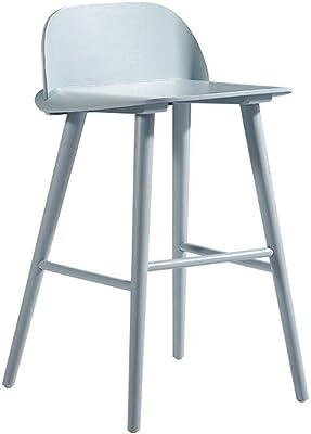 Taburete Stig.Ikea Stig Taburete Con Respaldo Negro Plata Color 63