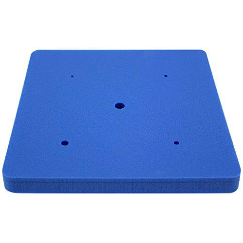 PME MFP572 Tappeto in Spugna, Blu, 19.5 x 1.8 x 19.5 cm