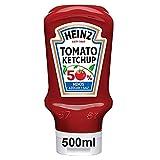 Heinz Ketchup 50% menos Azúcar y Sal envase 550g