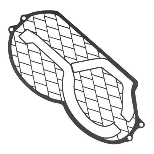 MERIGLARE Cabeza de Hierro para Motocicleta - Protector de Cubierta de Protección de Parrilla Liviana