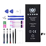 LTZGO 1700mAh Battery Compatible for iPhone 5S with Repair Tool Kits and Instructions