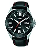 Lorus Reloj para de Cuarzo analógico con Correa en Cuero Genuino RH915NX9