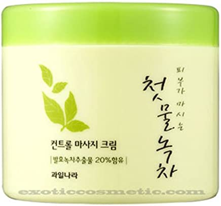Masaje Facial Crema Natural Del Te Verde Antiarrugas - Para Rejuvenecer Y Reafirmar La Piel De