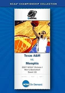 2007 NCAA r Division I Men's Basketball Sweet 16 - Texas A&M vs. Memphis