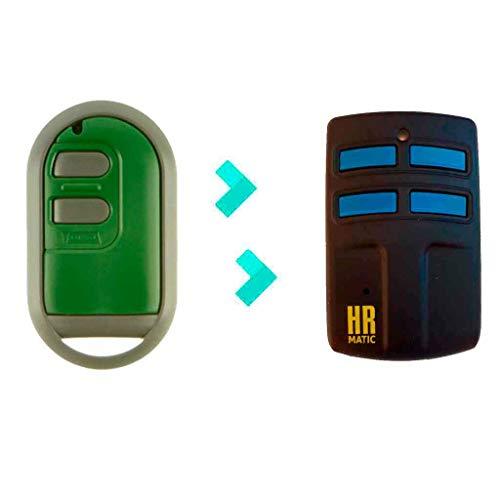 Mando de Garaje Universal HR MULTI 2 compatible FORSA TP2 MINI