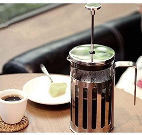 TONGSH Cafetera y Prensa de té French Press, 34 oz / 1000 ml, Vaso ...
