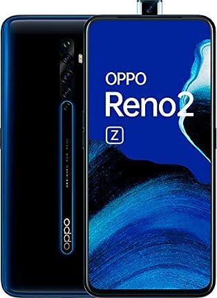 "OPPO Reno 2z - Smartphone 6.5"" AMOLED, Dual Sim, 8GB, 128GB, Helio P90 Octalcore, cámaras 48 MP + 8 MP (gran angular) + 2 MP + 2 MP, 4.000 mAh, Android 9, Negro [Versión ES/PT]"