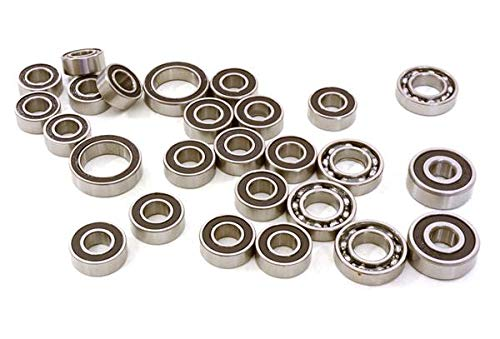 Integy RC Model Hop-ups C26989 Low Friction Oiled Ball Bearing Kit for Axial 1/10 SCX10 II Scale Rock Crawler