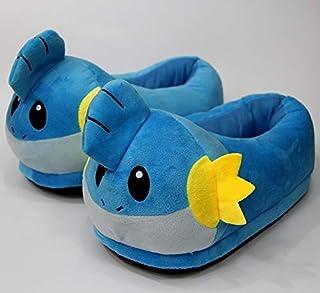 SLM-max Pokemon kapcie dziecięce, futro, buty pika, rozmiar dla dorosłych, anime Pokemon, pluszowe buty, Cosplay, festiwa...