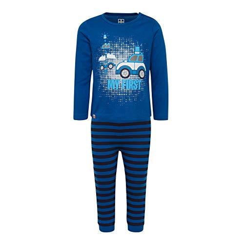 LEGO Baby-Jungen CM-50442-PYJAMAS Zweiteiliger Schlafanzug, Blau (Blue 553), (Herstellergröße: 80)