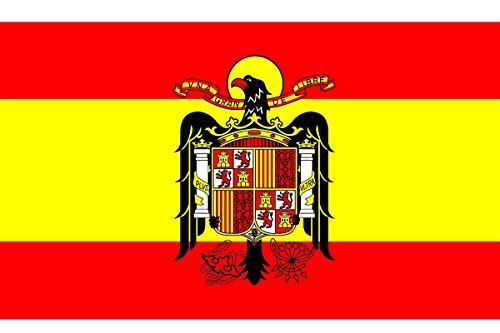 Durabol Bandera de ESPAÑA Escudo Aguila DE San Juan 150 x 90 cm