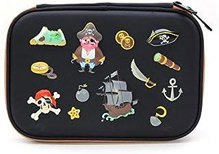 LMH Cute Cartoon Animals Pencil Case Students Morning Call Pencil Bag School Supplies Stationery Zipper Pen Box For Boys a...