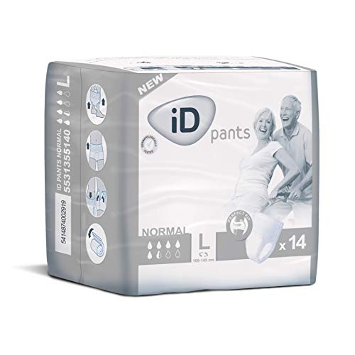 Ontex Id Pants Normal Taille L Pack 14...