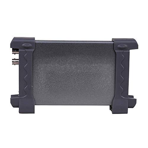 Osciloscopio de almacenamiento digital, osciloscopio USB de doble canal con mediciones automáticas, sondas dobles y frecuencia de muestreo de 48 MS/s, ancho de banda 20 MHz