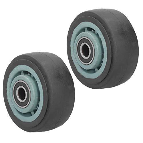 Mxzzand Reifen Zubehör 2Pcs 4in Generator Gummiräder Mute Wheel Praktisch hohe Leistung für die Landwirtschaft Landwirtschaft Benzingeneratorwagen