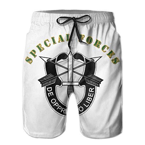 VFBGF Herrenshorts Fünf-Punkt-Hose Strandhose Freizeithose Sof - Sf DUI with Text Summer Must-Have Beach Men's Beach Shorts